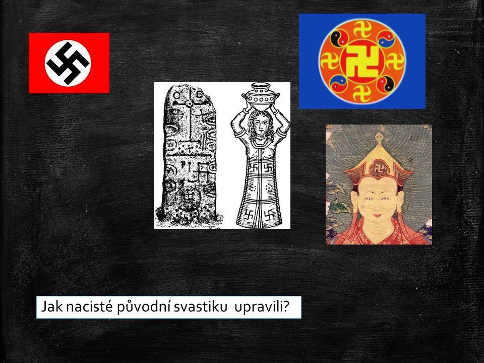 Jak nacisté původní svastiku upravili