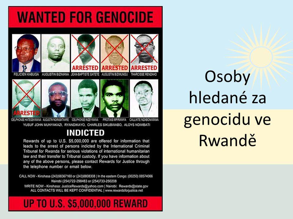 Osoby hledané za genocidu ve Rwandě