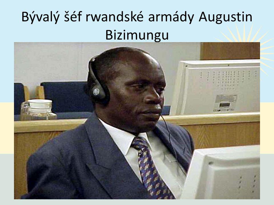 Bývalý šéf rwandské armády Augustin Bizimungu