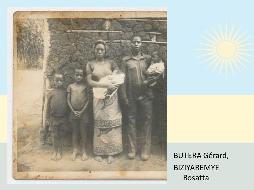 BUTERA Gérard, BIZIYAREMYE Rosatta