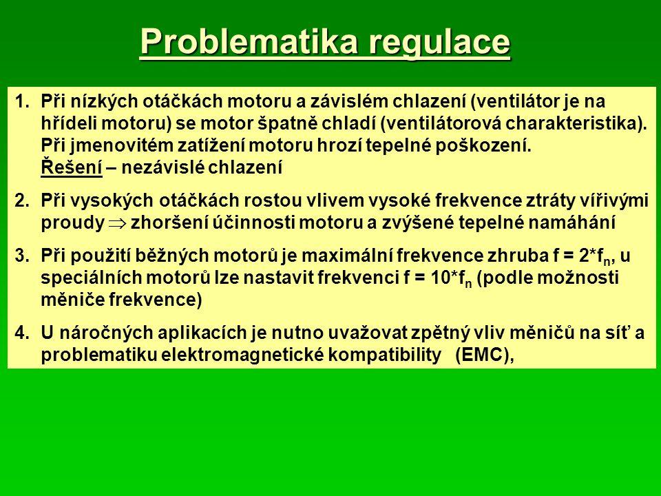 Problematika regulace