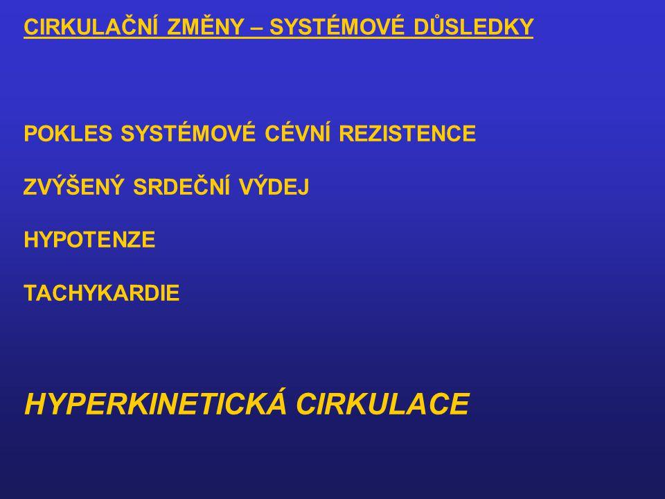 HYPERKINETICKÁ CIRKULACE