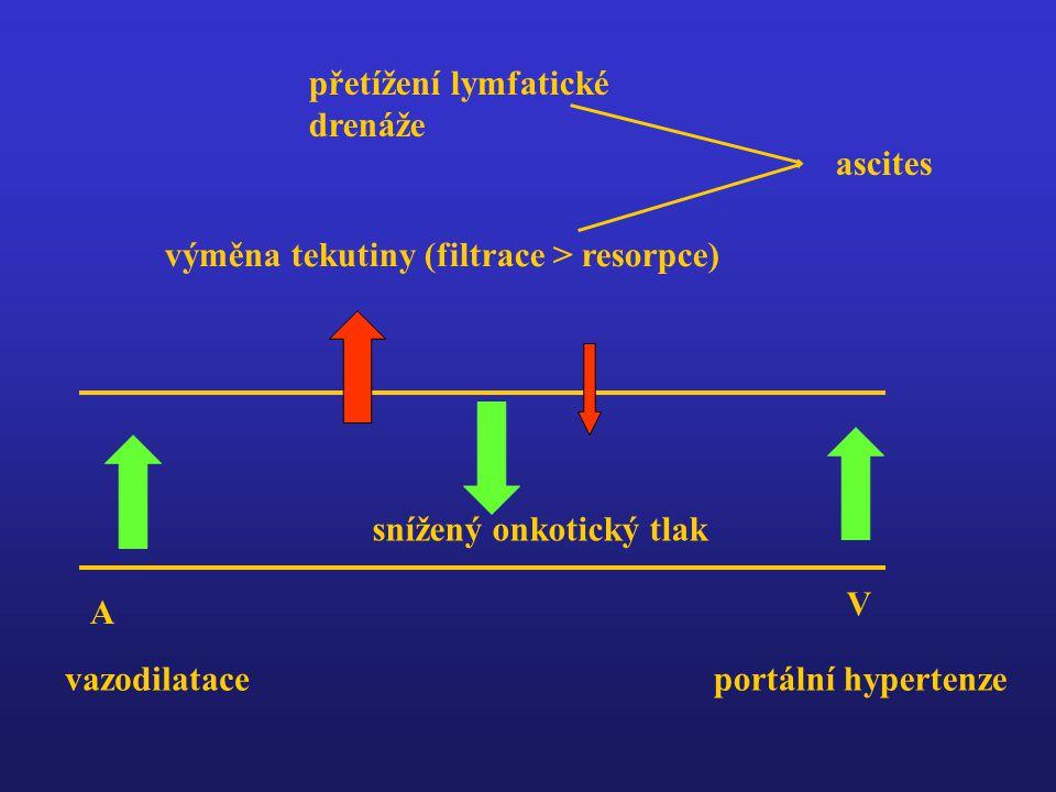 přetížení lymfatické drenáže