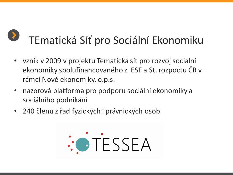 TEmatická Síť pro Sociální Ekonomiku