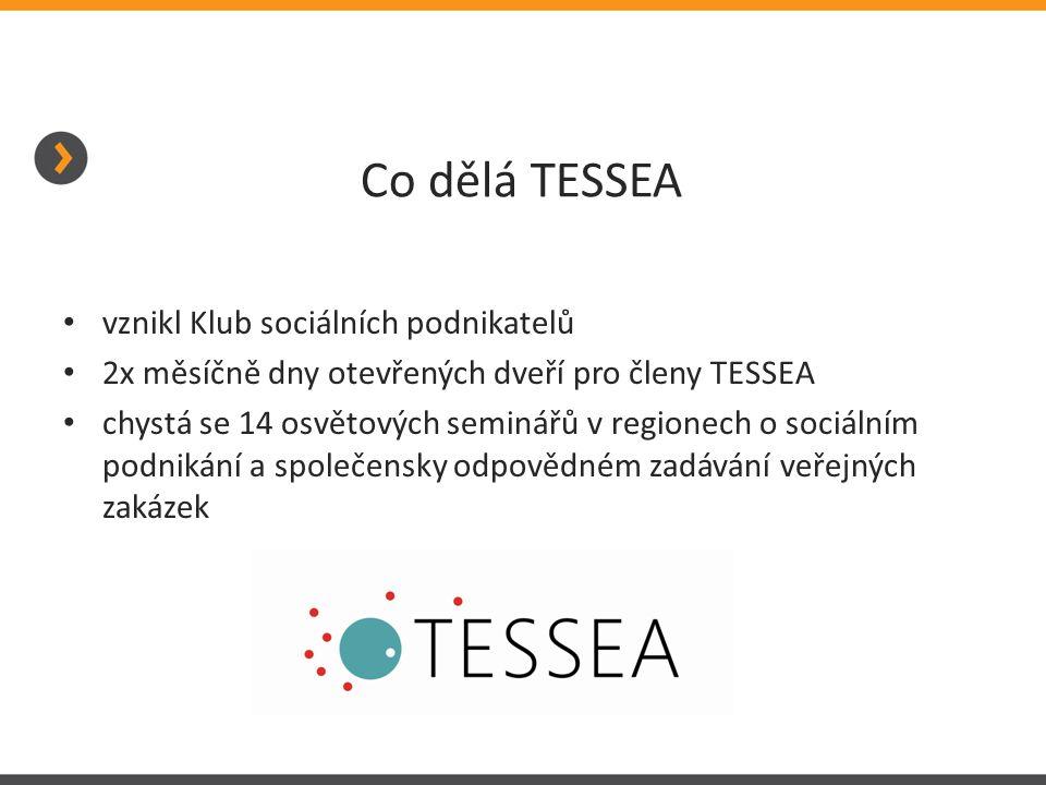 Co dělá TESSEA vznikl Klub sociálních podnikatelů