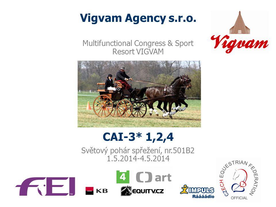 Vigvam Agency s.r.o. CAI-3* 1,2,4