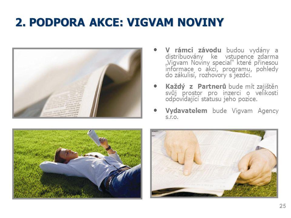 2. PODPORA AKCE: VIGVAM NOVINY