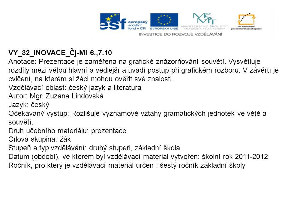 VY_32_INOVACE_Čj-Ml 6.,7.10