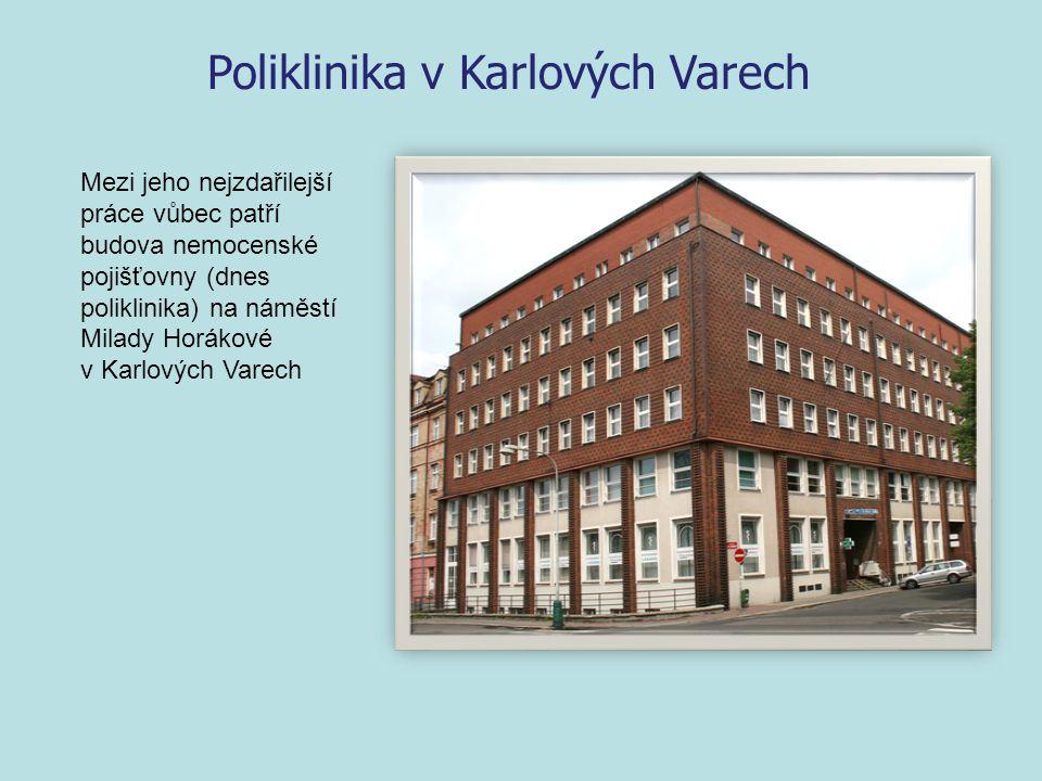 Poliklinika v Karlových Varech