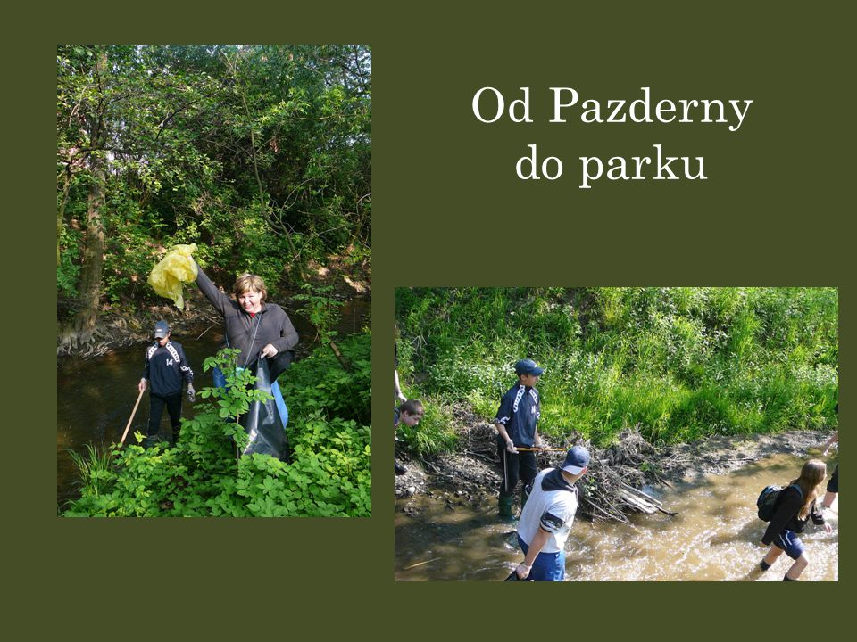 Od Pazderny do parku