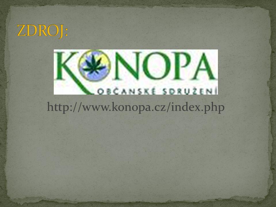 ZDROJ: http://www.konopa.cz/index.php