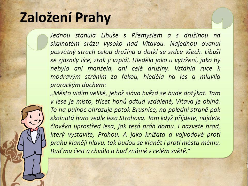 Založení Prahy
