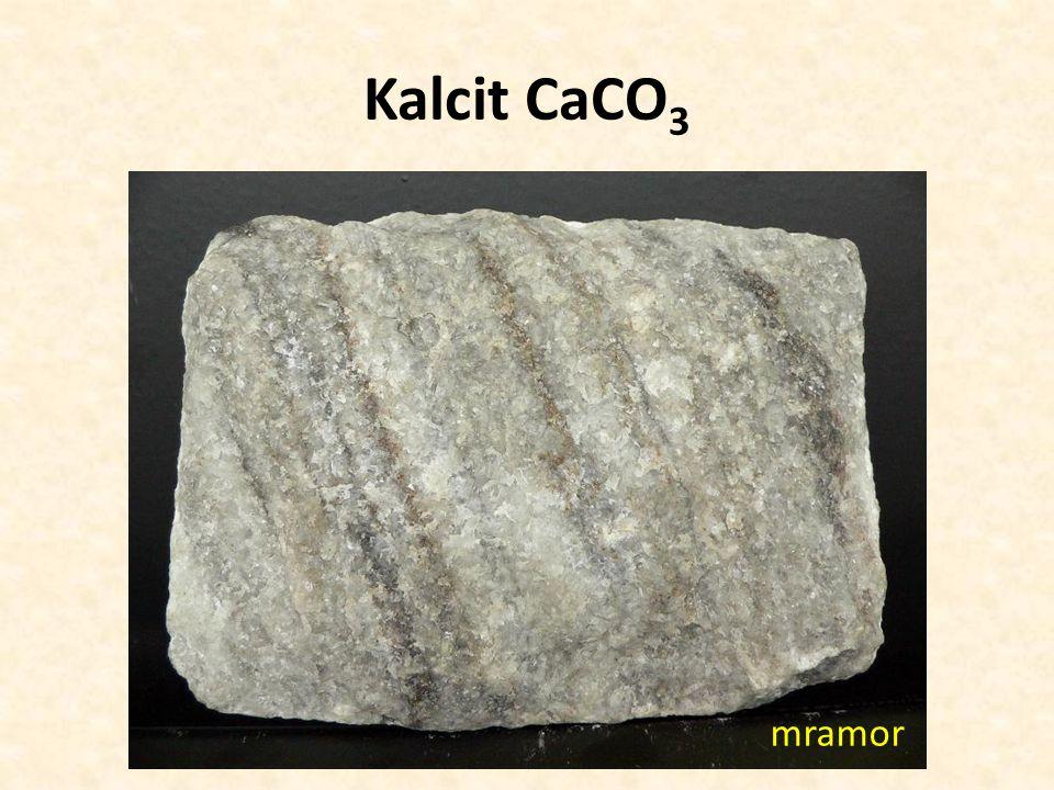Kalcit CaCO3 mramor