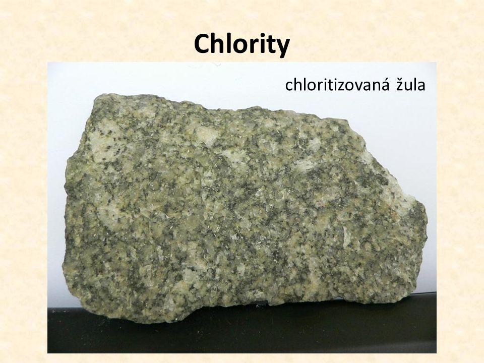 Chlority chloritizovaná žula