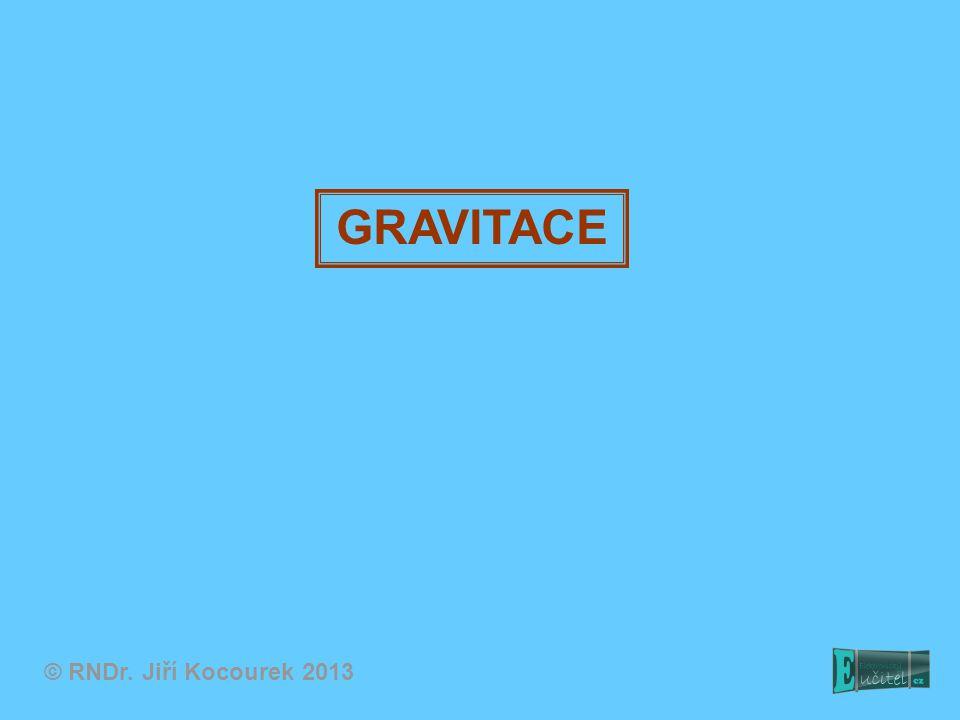 GRAVITACE © RNDr. Jiří Kocourek 2013