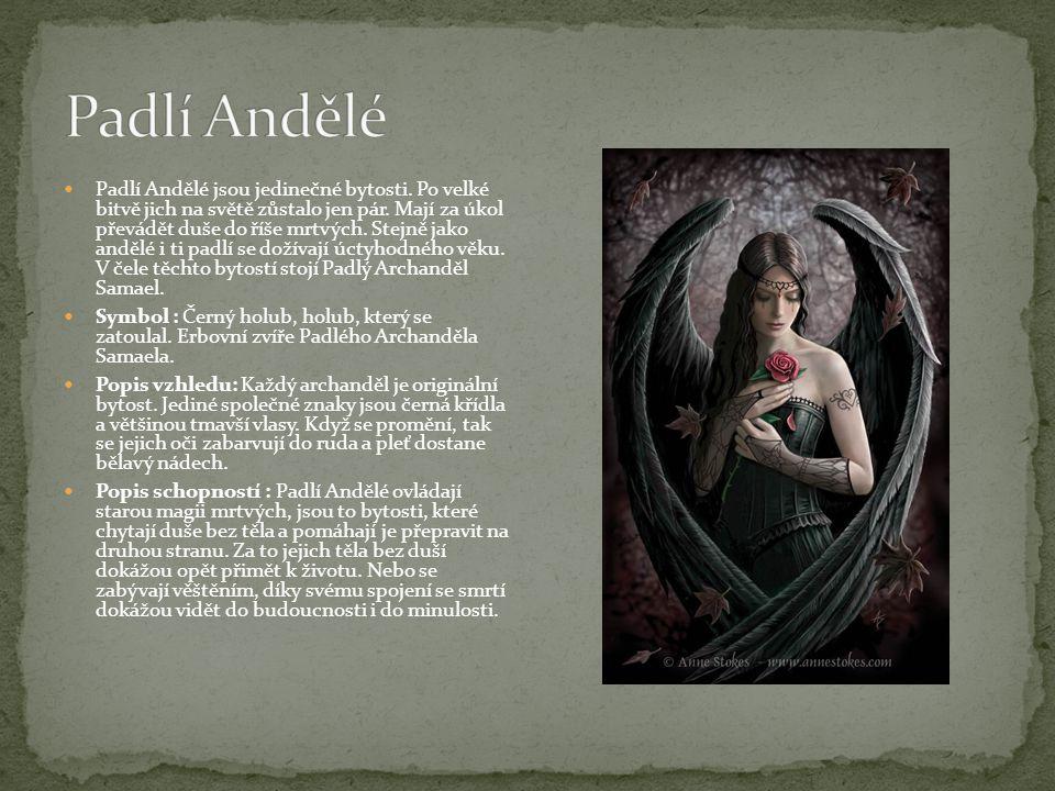 Padlí Andělé