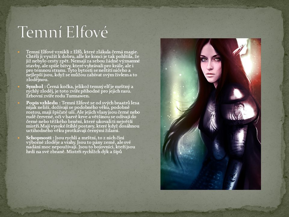 Temní Elfové