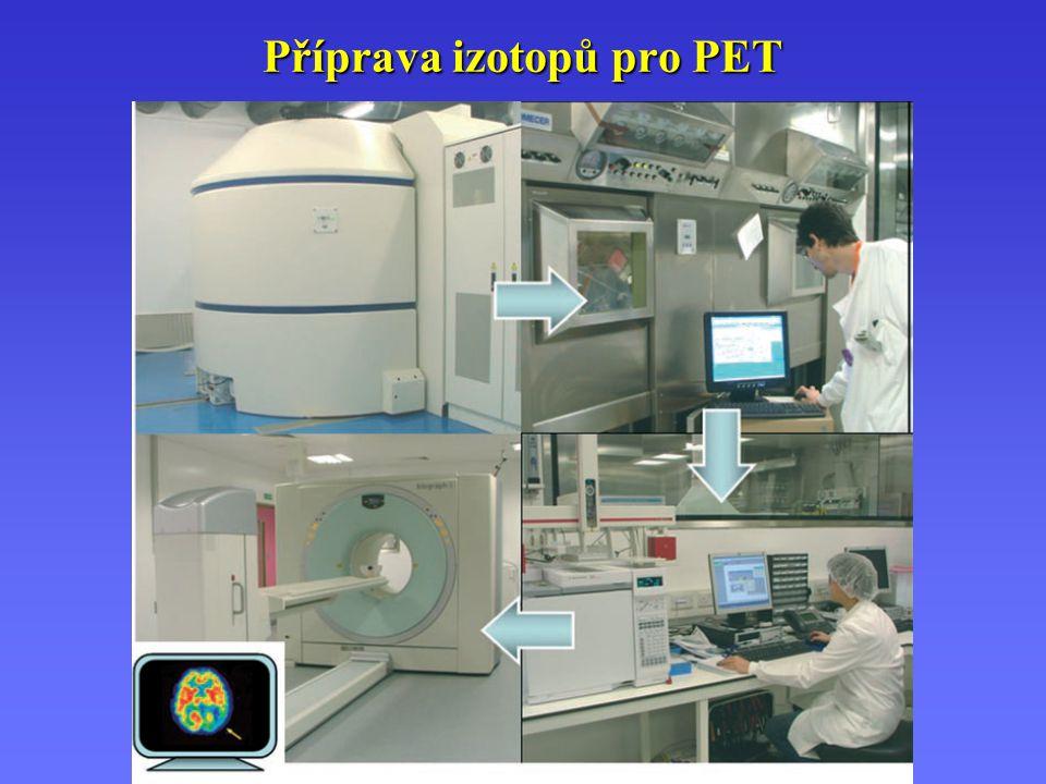 Příprava izotopů pro PET