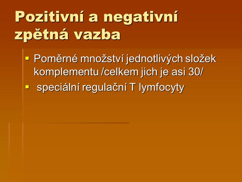 Pozitivní a negativní zpětná vazba