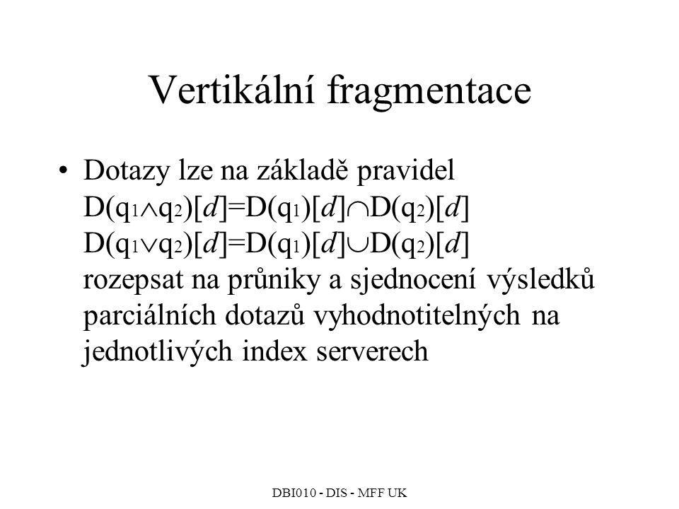 Vertikální fragmentace