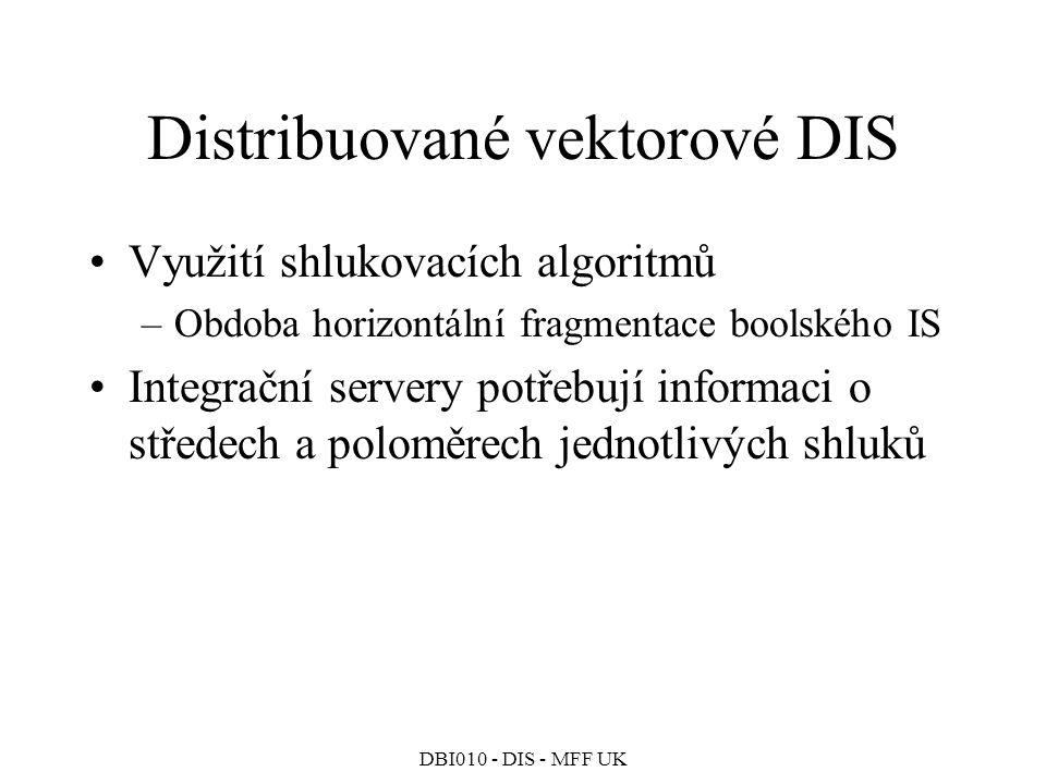 Distribuované vektorové DIS