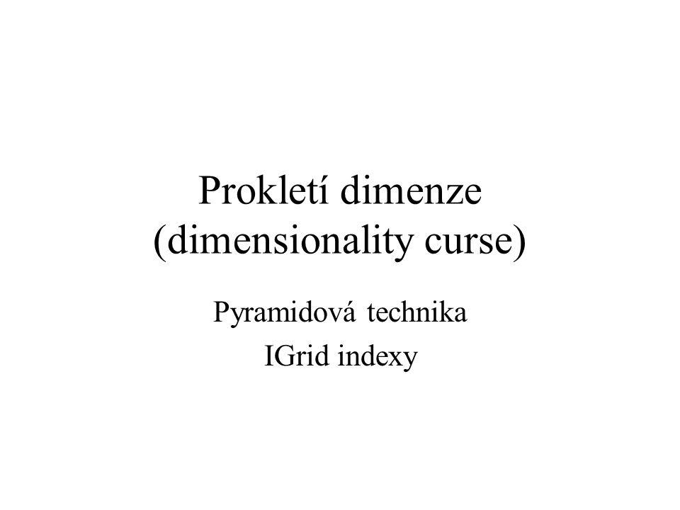 Prokletí dimenze (dimensionality curse)