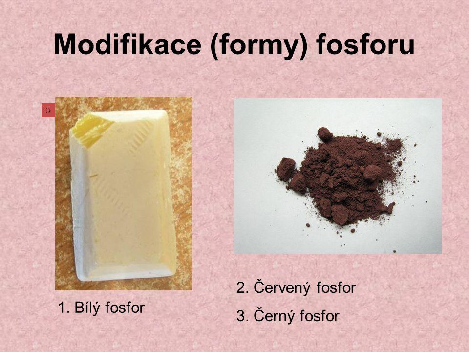 Modifikace (formy) fosforu