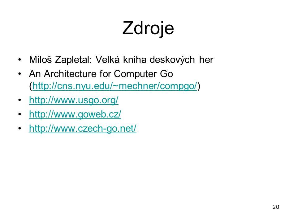 Zdroje Miloš Zapletal: Velká kniha deskových her