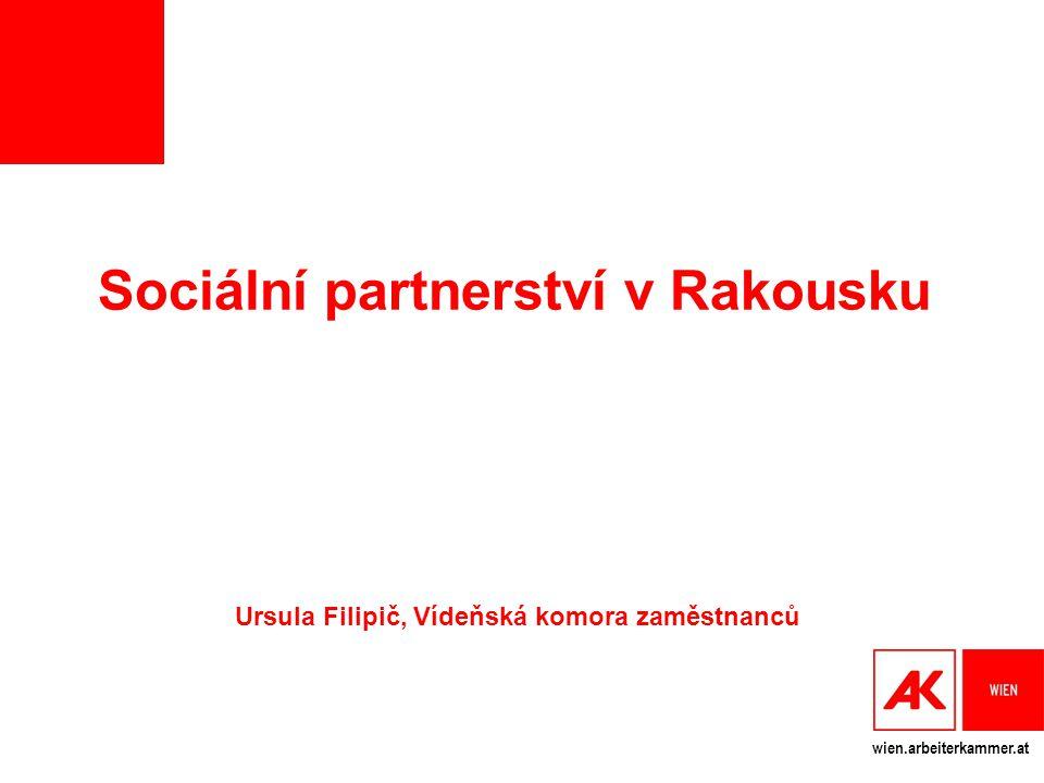 Sociální partnerství v Rakousku