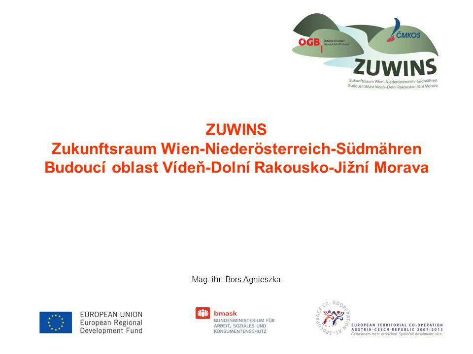 ZUWINS Zukunftsraum Wien-Niederösterreich-Südmähren