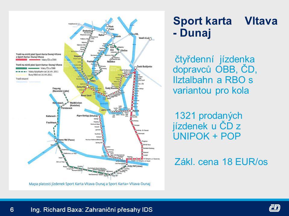 1321 prodaných jízdenek u ČD z UNIPOK + POP