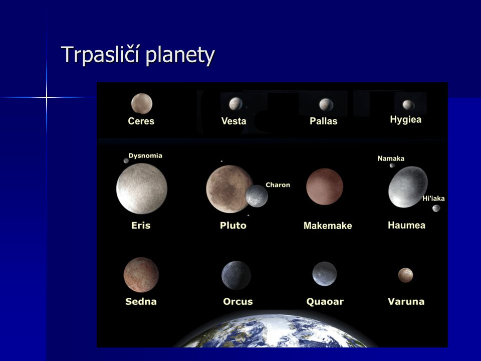 Trpasličí planety