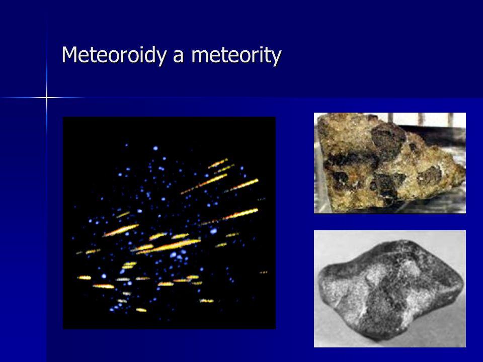 Meteoroidy a meteority