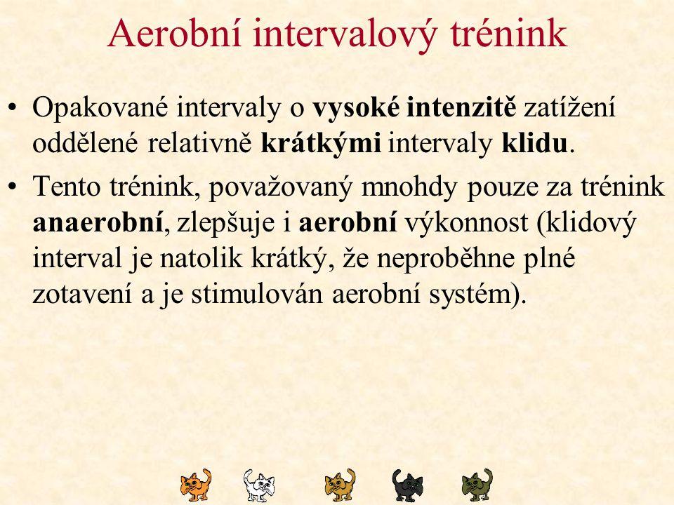Aerobní intervalový trénink