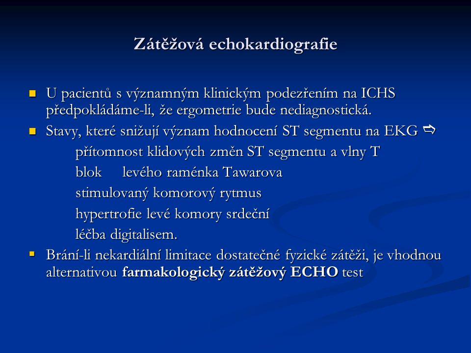 Zátěžová echokardiografie