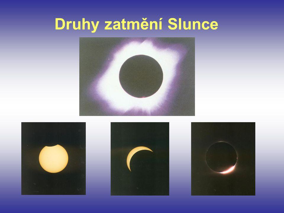 Druhy zatmění Slunce