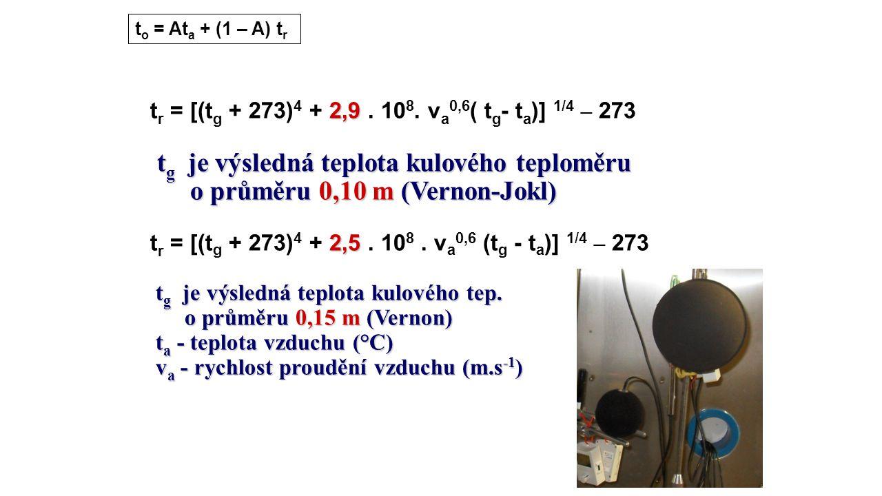 to = Ata + (1 – A) tr