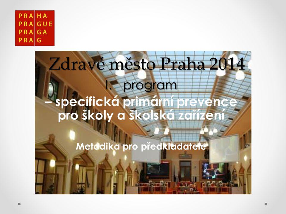 Zdravé město Praha 2014 program