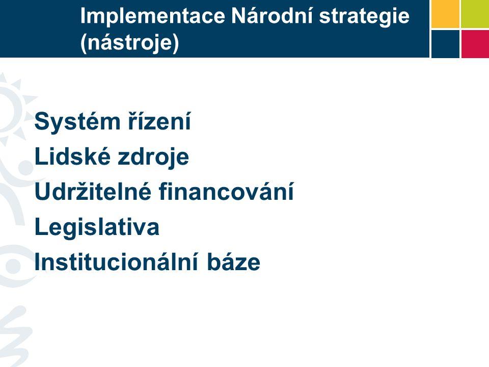 Implementace Národní strategie (nástroje)