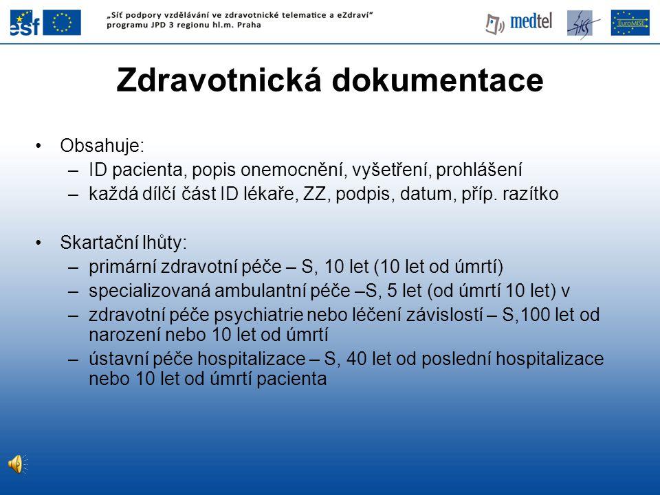 Zdravotnická dokumentace