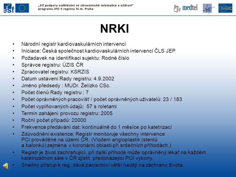 NRKI Národní registr kardiovaskulárních intervencí
