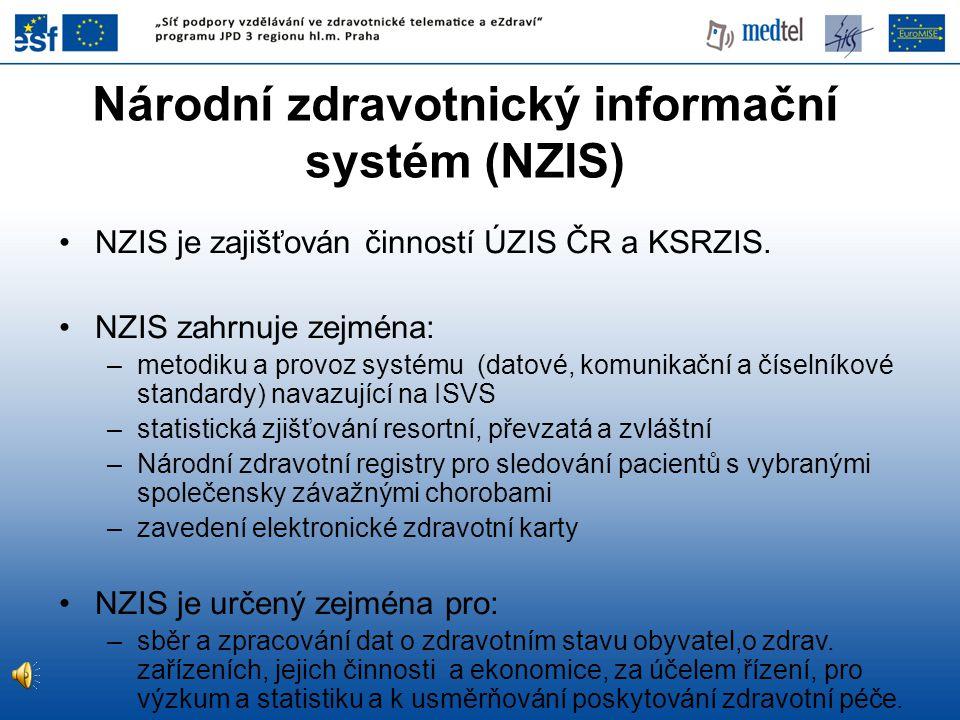 Národní zdravotnický informační systém (NZIS)