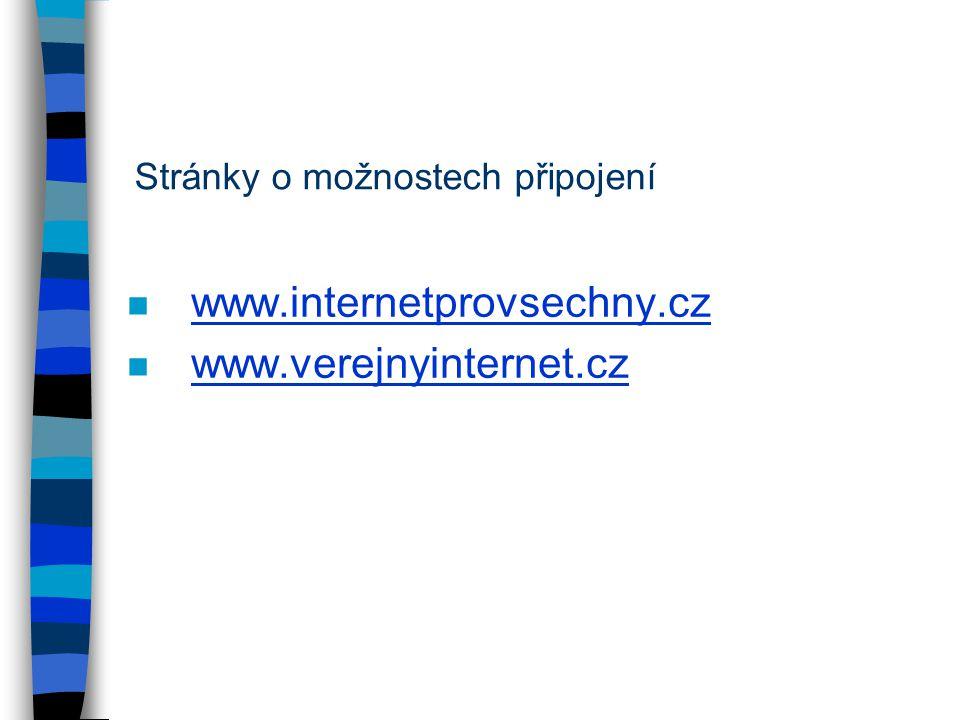 www.internetprovsechny.cz www.verejnyinternet.cz