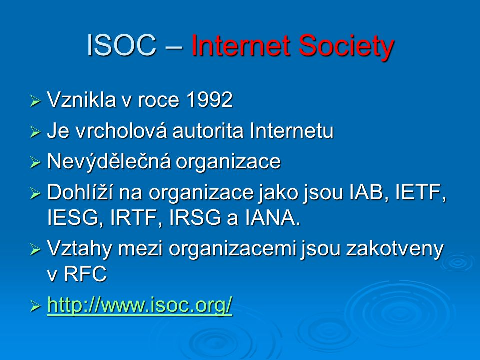 ISOC – Internet Society