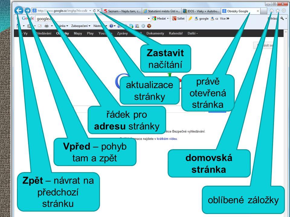 Internetový prohlížeč Internet Explorer
