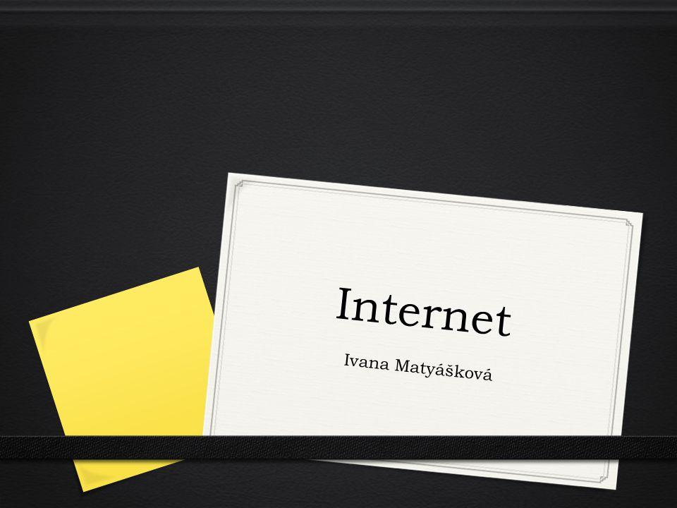 Internet Ivana Matyášková