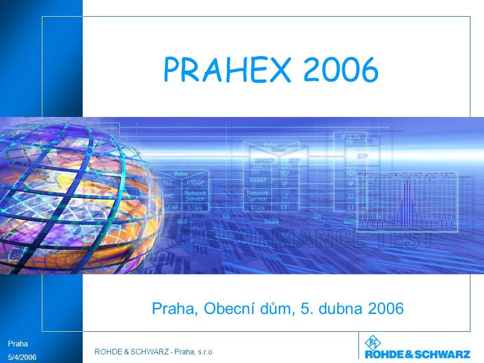 PRAHEX 2006 Praha, Obecní dům, 5. dubna 2006