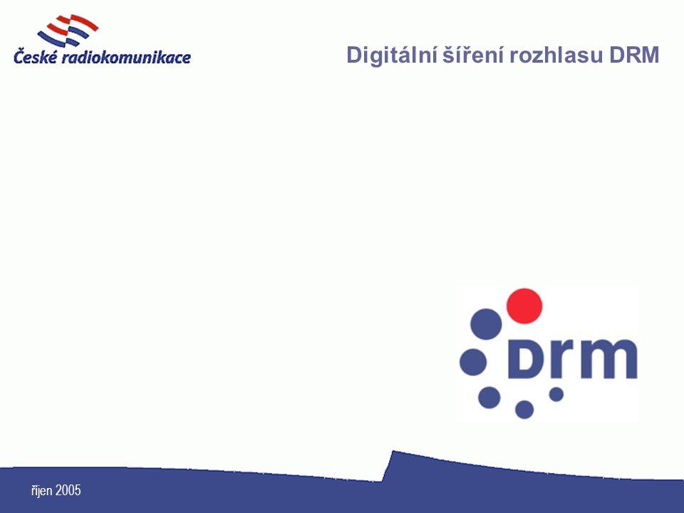 Digitální šíření rozhlasu DRM