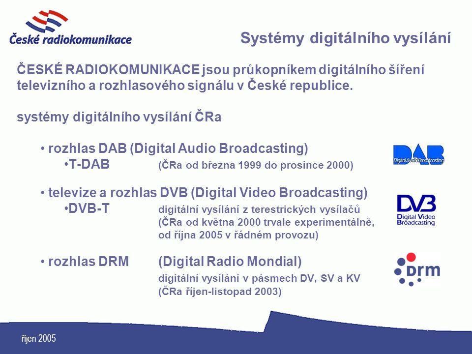 Systémy digitálního vysílání