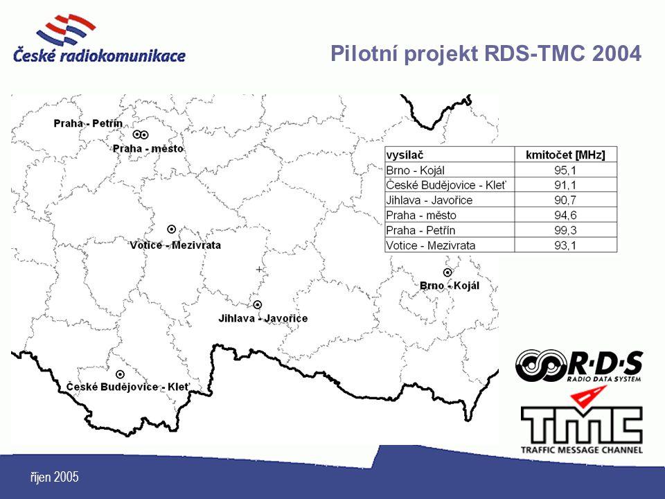 Pilotní projekt RDS-TMC 2004